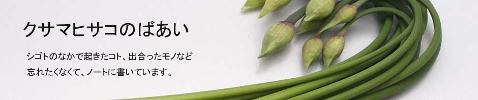 クサマヒサコ野菜と出合う
